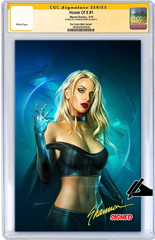 HOUSE OF X #1 SHANNON MAER VIRGIN VARIANT LIMITED TO 600 CGC SS PREORDER