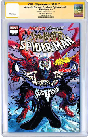 ABSOLUTE CARNAGE SYMBIOTE SPIDER-MAN #1 MIKE MAYHEW ASM #238 HOMAGE TRADE DRESS VARIANT LIMITED TO 1500 CGC SS PREORDER
