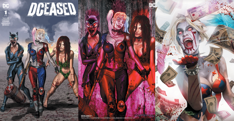 DCEASED #1 GREG HORN EXCLUSIVE VARIANT 3 PACK