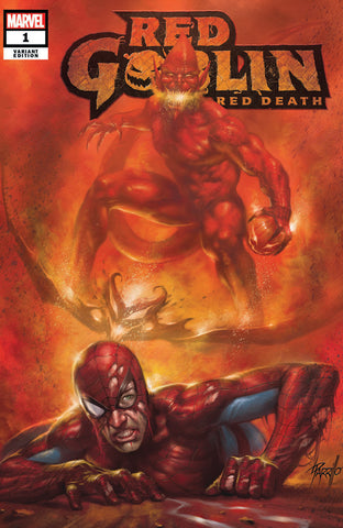 RED GOBLIN RED DEATH #1 LUCIO PARRILLO TRADE DRESS VARIANT LIMITED TO 1000 WITH NUMBERED COA