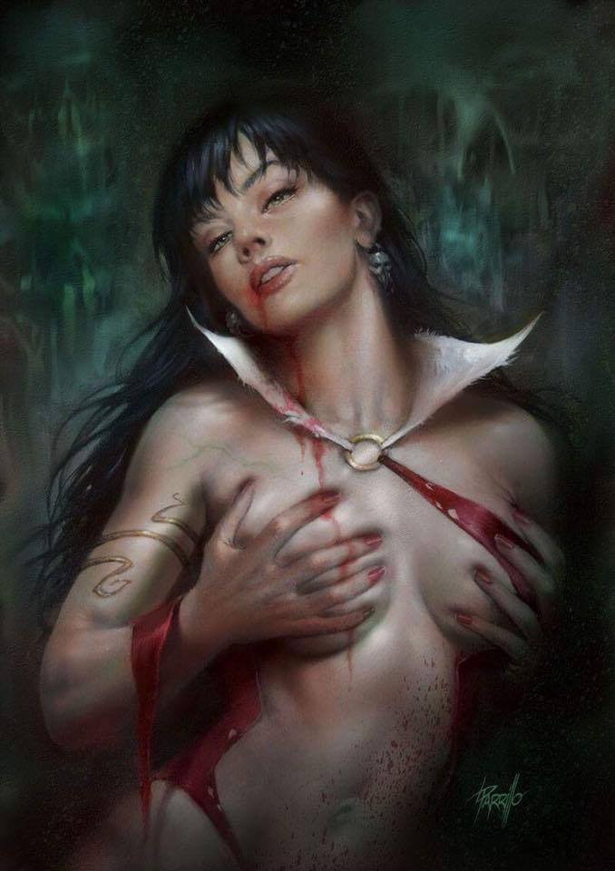 VAMPIRELLA #11 LUCIO PARILLO VIRGIN VARIANT LIMITED TO 500 COPIES