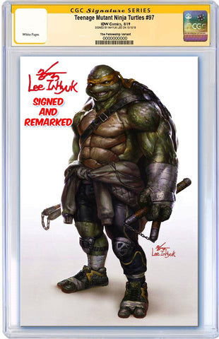 TMNT ONGOING #97 INHYUK LEE VIRGIN VARIANT LIMITED TO 500 CGC REMARK PREORDER