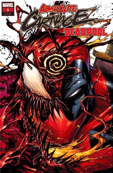 ABSOLUTE CARNAGE VS DEADPOOL #1 TYLER KIRKHAM TRADE DRESS VARIANT LIMITED TO 3000