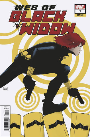 04/09/2019 WEB OF BLACK WIDOW #1 1:50 GARBETT VARIANT