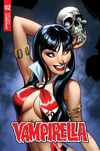 21/08/2019 VAMPIRELLA #2 1:15 J SCOTT CAMPBELL SNEAK PEAK VARIANT