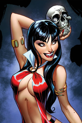 21/08/2019 VAMPIRELLA #2 1:25 J SCOTT CAMPBELL SNEAK PEAK VIRGIN VARIANT