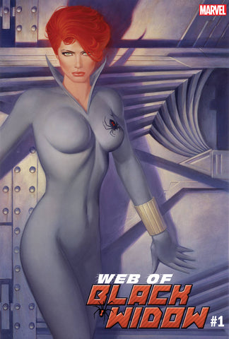 04/09/2019 WEB OF BLACK WIDOW #1 1:100 CHIODO HIDDEN GEM VARIANT
