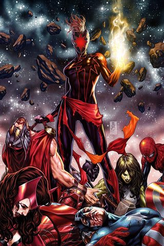 CAPTAIN MARVEL #12 MARK BROOKS VIRGIN VARIANT