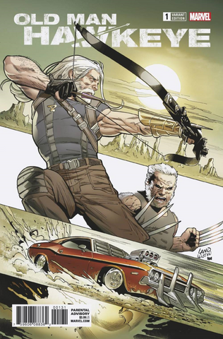 OLD MAN HAWKEYE #1 (OF 12) 1:25 LAND VARIANT