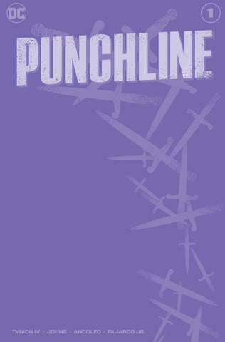 PUNCHLINE SPECIAL #1 PURPLE BLANK LIMITED TO 1000
