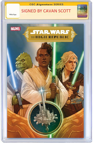 STAR WARS HIGH REPUBLIC #1 (OF 6) SIGNED BY WRITER - CAVAN SCOTT CGC SS PREORDER