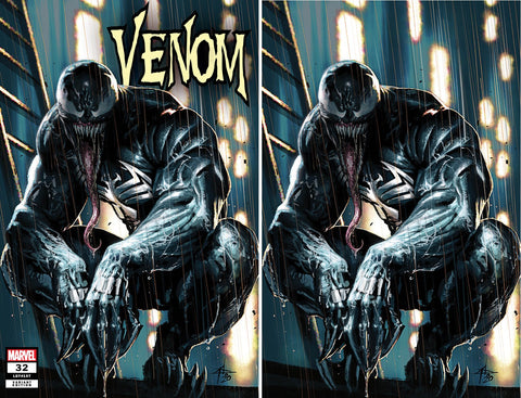 VENOM #32 KIB GABRIELE DELL'OTTO TRADE/VIRGIN VARIANT SET LIMITED TO 700 SETS WITH COA
