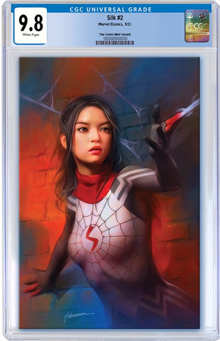 SILK #2 SHANNON MAER UNMASKED VIRGIN VARIANT LIMITED TO 1000 CGC 9.8 PREORDER