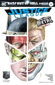 JUSTICE LEAGUE #33 VAR ED (METAL)