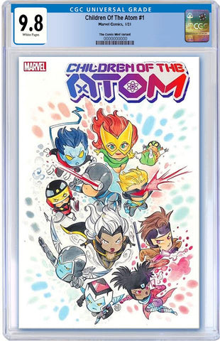 CHILDREN OF ATOM #1 PEACH MOMOKO CHIBI VARIANT TRADE DRESS LIMITED TO 3000 CGC 9.8 PREORDER