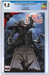 KING IN BLACK PLANET OF SYMBIOTES #1 SKAN SRISUWAN TRADE DRESS VARIANT LIMITED TO 3000 CGC 9.8 PREORDER