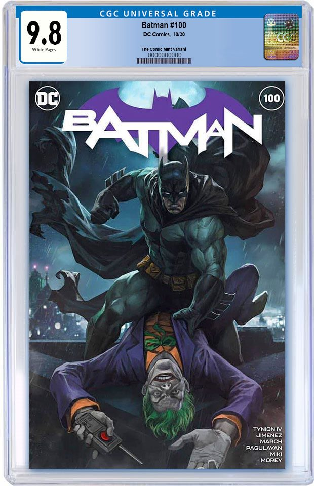 BATMAN #100 SKAN SIRUSAWAN NYCC WEEK VARIANT LIMITED TO 500 COPIES WITH NUMBERED COA CGC  9.8 PREORDER