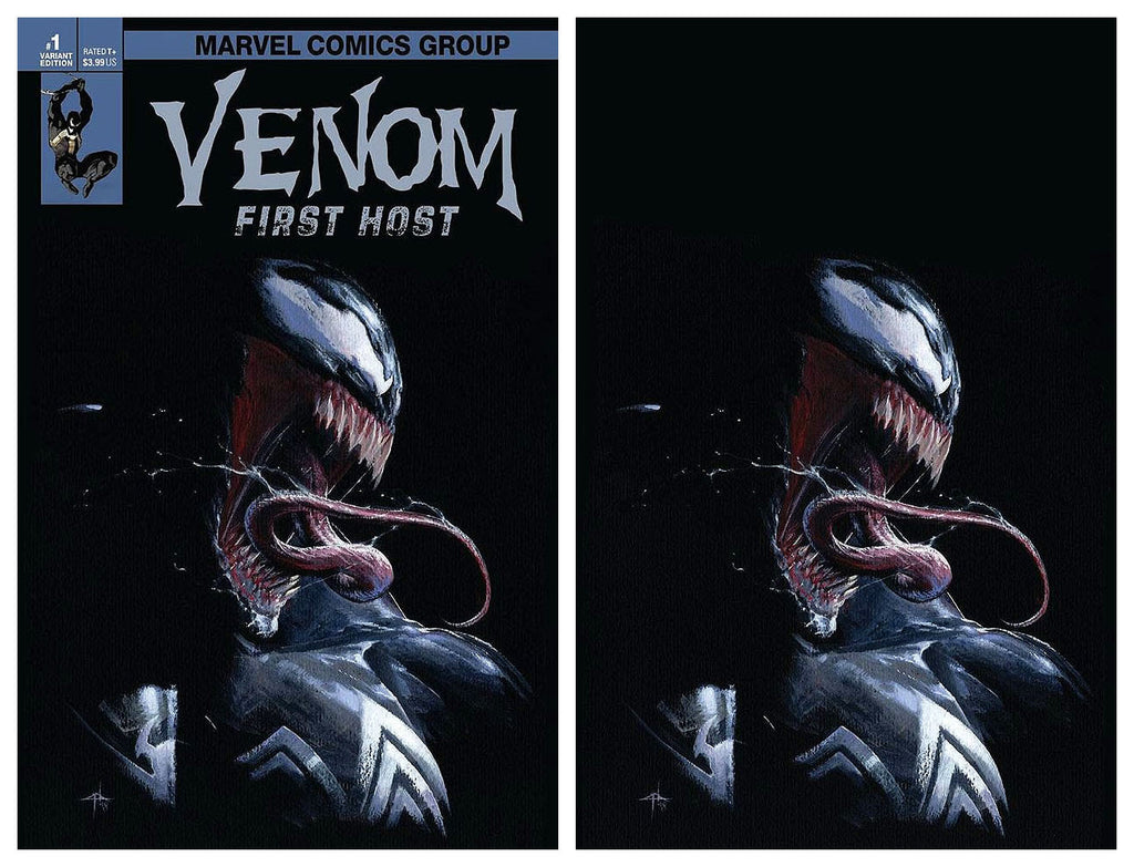 VENOM FIRST HOST #1 GABREIELE DELL'OTTO VARIANT '1ST APP OF TEL-KAR' TRADE/VIRGIN SET LIMITED TO 1000 SETS