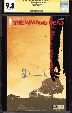 WALKING DEAD #193 CGC 9.8 SS SIGNED BY CHARLIE ADLARD PREORDER