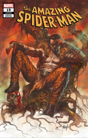 AMAZING SPIDER-MAN #19 LUCIO PARRILLO KRAVEN TRADE DRESS VARIANT