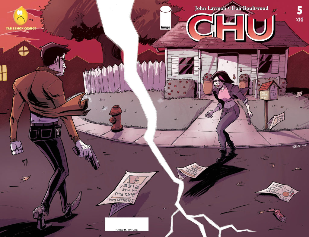 CHU #5 ROB GUILLORY WRAPAROUND VARIANT LIMITED TO 300 COPIES