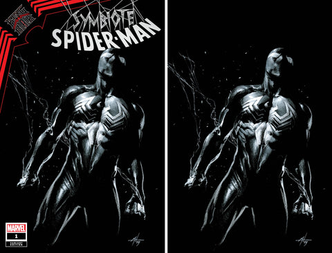 SYMBIOTE SPIDER-MAN KING IN BLACK #1 GABRIELLE DELL'OTTO TRADE/VIRGIN VARIANT SET LIMITED TO 700 SETS WITH NUMBERED COA