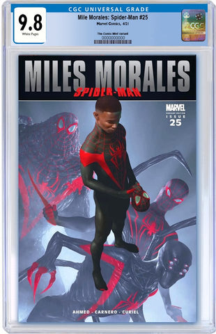 MILES MORALES #25 RAHZZAH ULTIMATE FALLOUT #4 TRUE HOMAGE VARIANT LIMITED TO 1500 COPIES CGC 9.8 PREORDER