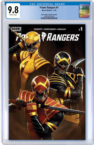 POWER RANGERS #1 RAFAEL GRASSETTI VARIANT LIMITED TO 1000 COPIES CGC 9.8 PREORDER