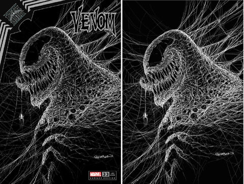 VENOM #33 PATRICK GLEASON WEBHEAD TRADE/VIRGIN VARIANT SET LIMITED TO 1500 SETS WITH COA