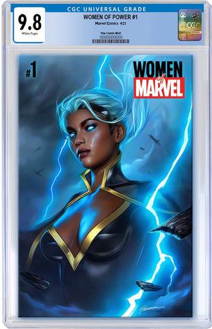 WOMEN OF MARVEL #1 SHANNON MAER TRADE DRESS VARIANT LIMITED TO 3000 CGC 9.8 PREORDER