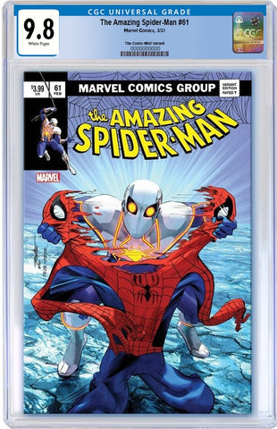 *AMAZING SPIDER-MAN #61 MIKE MAYHEW ASM 238 HOMAGE VARIANT LIMITED TO 800 WITH NUMBERED COA CGC 9.8 PREORDER