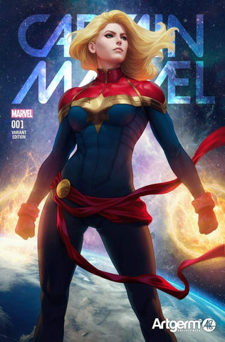 CAPTAIN MARVEL #1 ARTGERM EXCLUSIVE TRADE DRESS VARIANT