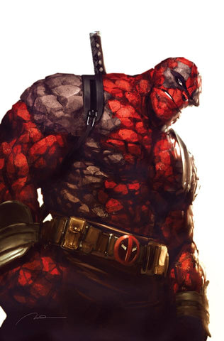 MARVEL TWO-IN-ONE #6 PAREL DEADPOOL VIRGIN VARIANT LIMITED TO 1000