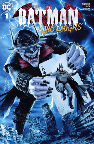 BATMAN WHO LAUGHS #1 MIKE MAYHEW MODERN TRADE DRESS VARIANT LIMITED TO 1500