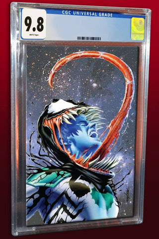 VENOM FIRST HOST #1 MIKE MAYHEW VARIANT '1ST APP OF TEL-KAR' VIRGIN VARAINT LIMITED TO 700 CGC 9.8 PREORDER