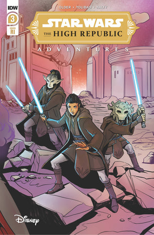 07/04/2021 STAR WARS HIGH REPUBLIC ADVENTURES #3 1:10 YEAL NATH VARIANT