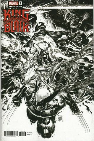 02/12/2020 KING IN BLACK #1 (OF 5) 1 PER STORE TAN SKETCH VARIANT VARIANT
