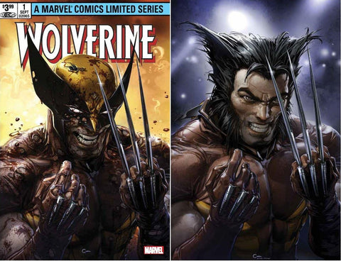 WOLVERINE CLAREMONT & MILLER #1 FACSIMILE EDITION CLAYTON CRAIN TRADE DRESS/VIRGIN SET LIMITED TO 1000 SETS