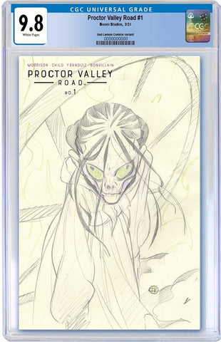 PROCTOR VALLEY ROAD #1 PEACH MOMOKO SKETCH VARIANT LIMITED TO 1000 CGC 9.8 PREORDER