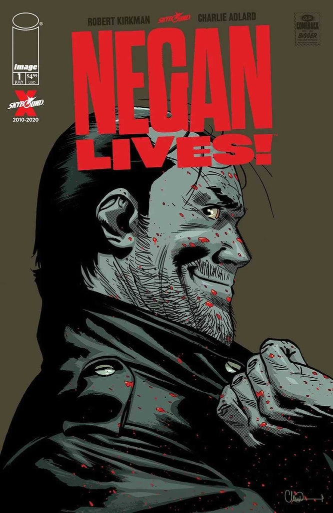 01/07/2020 WALKING DEAD NEGAN LIVES #1 (ONE SHOT) 2 PER STORE SILVER FOIL VARIANT