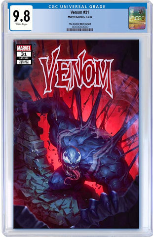 VENOM #31 WOO CHUL LEE TRADE DRESS VARIANT LIMITED TO 3000 CGC 9.8 PREORDER