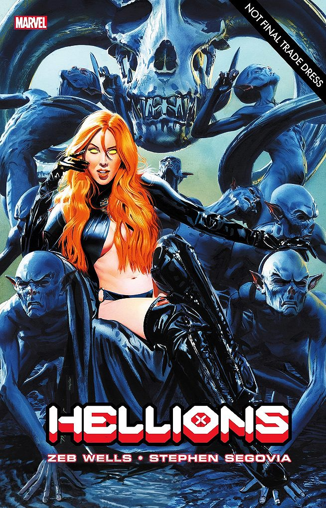 HELLIONS #2 MIKE MAYHEW TRADE DRESS VARIANT LIMITED TO 3000