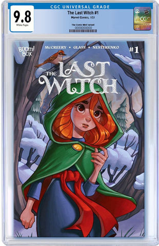 LAST WITCH #1 CHRISSIE ZULLO VARIANT LIMITED TO 500 CGC 9.8 PREORDER