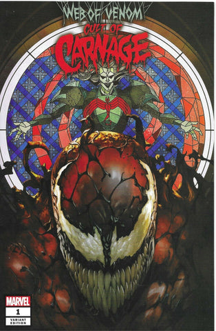 WEB OF VENOM CULT OF CARNAGE #1 SKAN SRISUWAN TRADE DRESS VARIANT LIMITED TO 3000