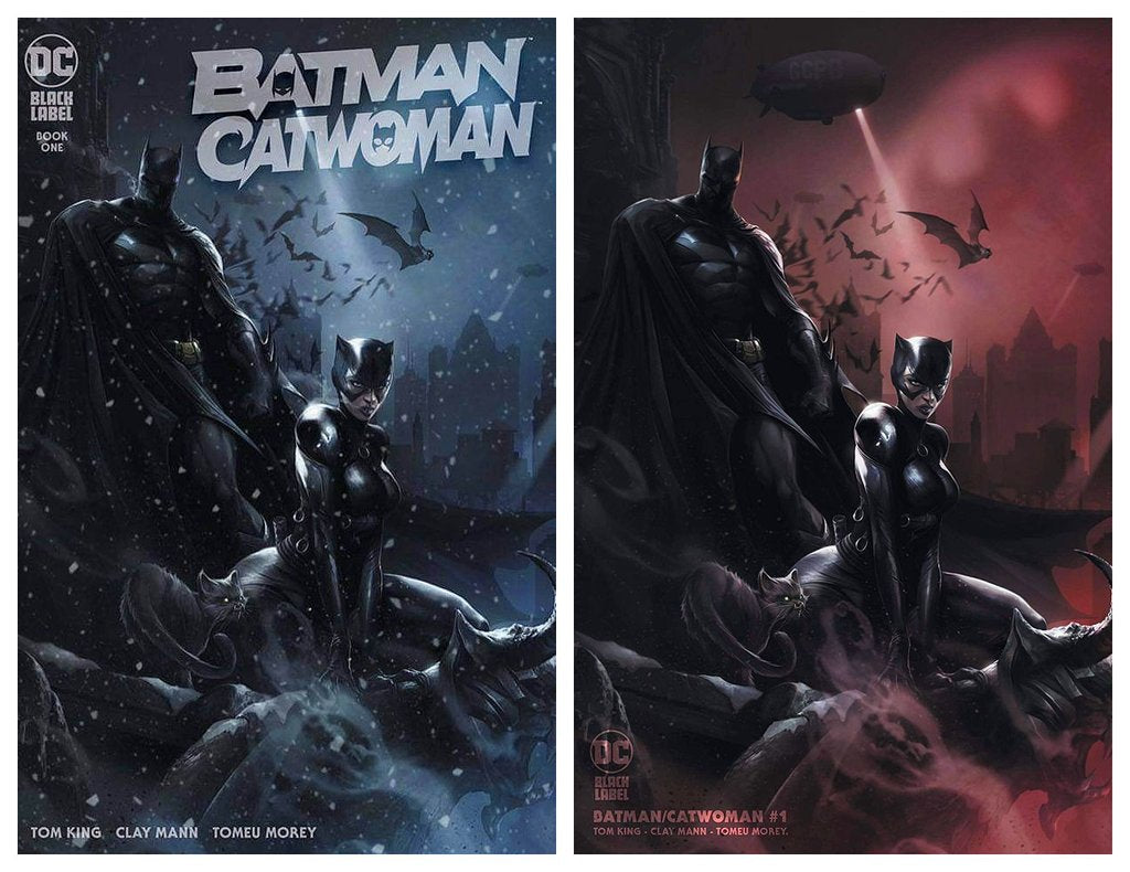 BATMAN CATWOMAN #1 FRANCESCO MATTINA TRADE DRESS/MINIMAL TRADE VARIANT SET