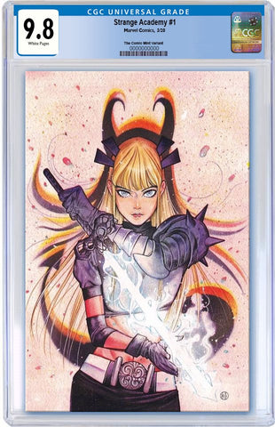 STRANGE ACADEMY #1 PEACH MOMOKO VIRGIN VARIANT LIMITED TO 600 CGC 9.8 PREORDER