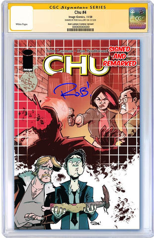 CHU #4 ROB GUILLORY VARIANT LIMITED TO 300 COPIES CGC REMARK PREORDER