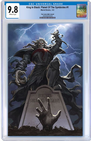 KING IN BLACK PLANET OF SYMBIOTES #1 SKAN SRISUWAN VIRGIN VARIANT LIMITED TO 800 WITH COA CGC 9.8 PREORDER