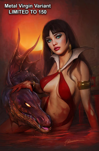 VAMPIRELLA #20 SHANNON MAER METAL VIRGIN VARIANT LIMITED TO 150