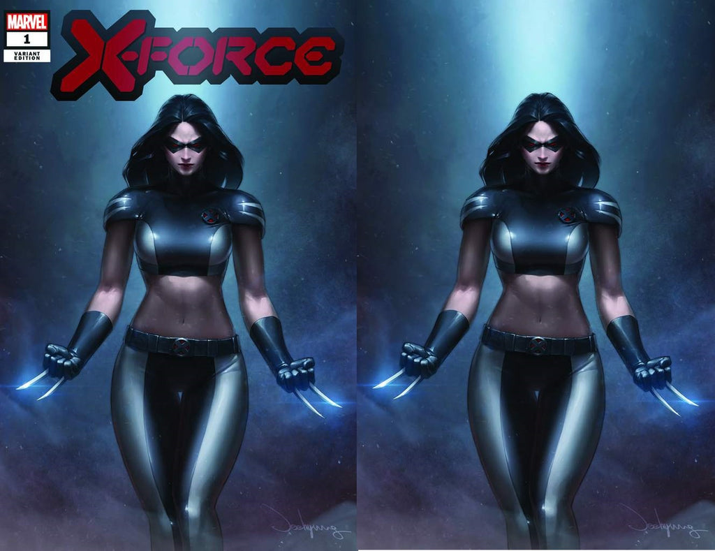 X-FORCE #1 JEEHYUNG LEE X-23 TRADE/VIRGIN VARIANT SET LIMITED TO 1000 SETS